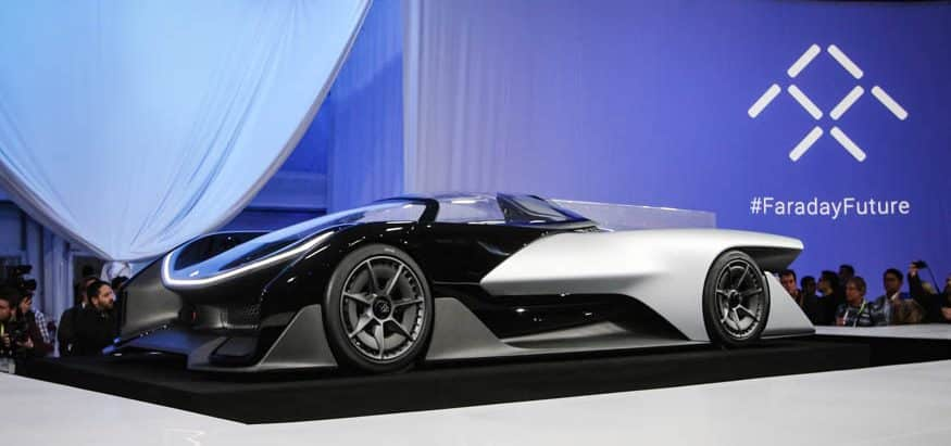 Faraday Future, an electric supercar from China